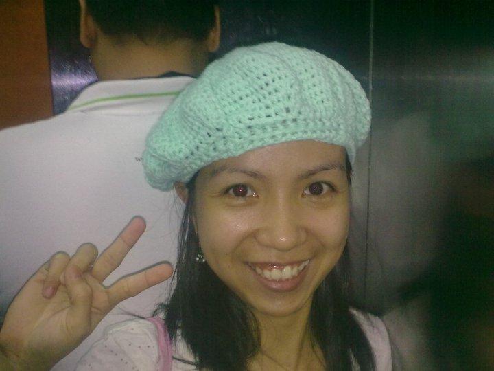 Crochet Beret Ginantsilyo