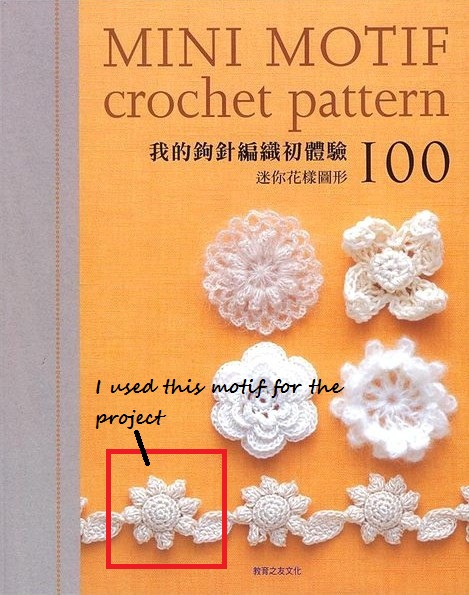 Crochet Patterns And Projects Book : 100 Mini Motif Crochet Patterns Japanese Crochet Craft Book - Cover