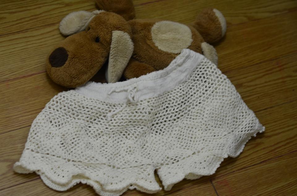 Crocheted Shorts Ginantsilyo