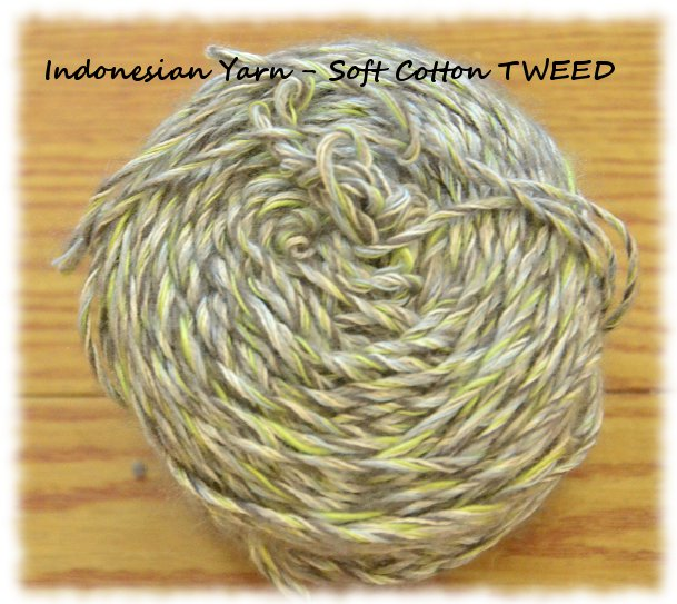 Indonesian Yarn - from www.craftandme.com Soft Cotton