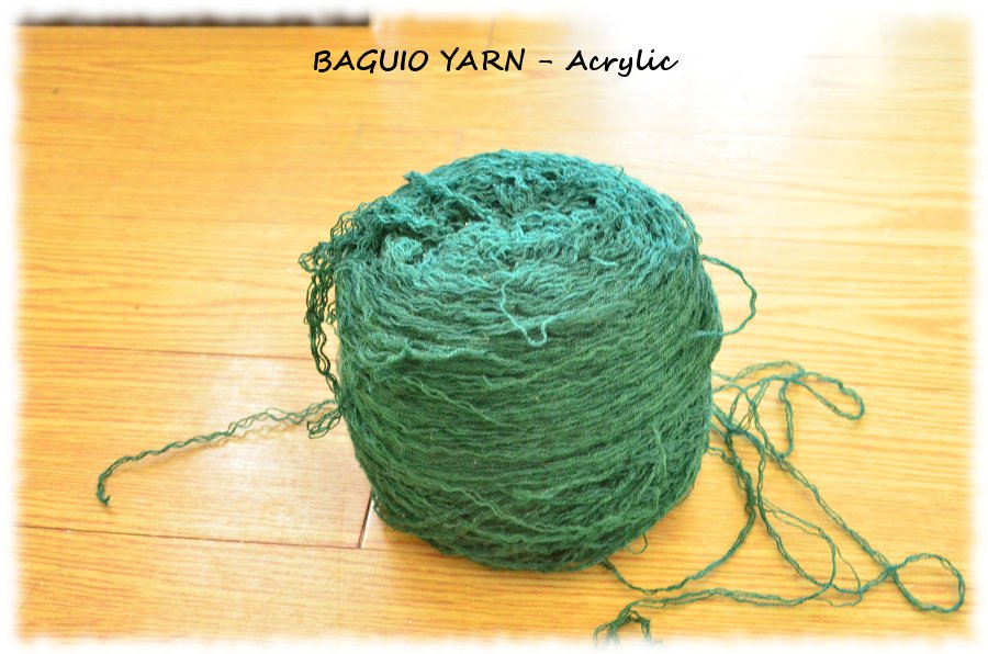 Baguio Yarn Acrylic - One big ball
