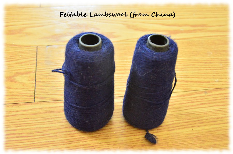 Feltable Lambswool from China