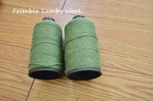 Feltable Lambs wool