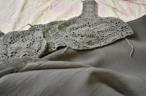 Khaki fabric for P60 per yard