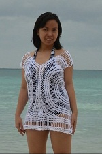 White Crocheted Blouse