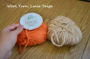 linie taiga wool yarn