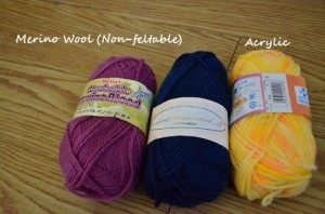 merino wool blend acrylic japanese yarns