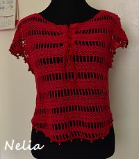 Nelia Crocheted Blouse