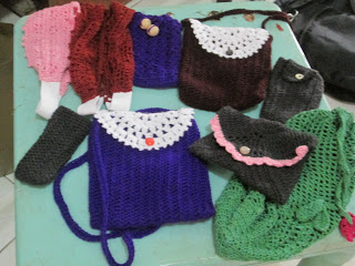 Gina's Crocheted Christmas Gifts
