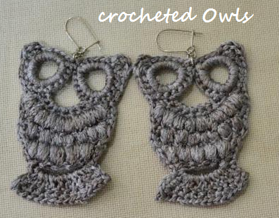Crochet Earrings Ginantsilyo
