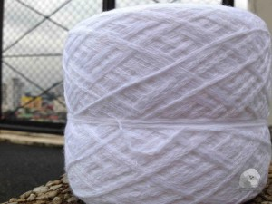 White Cotton Yarn from Baguio being sold by Yarn Source Manila