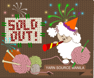 sold out logo for yarn source manila