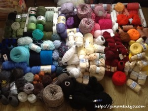 Yarns by color