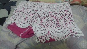 Summer Crocheted Shorts