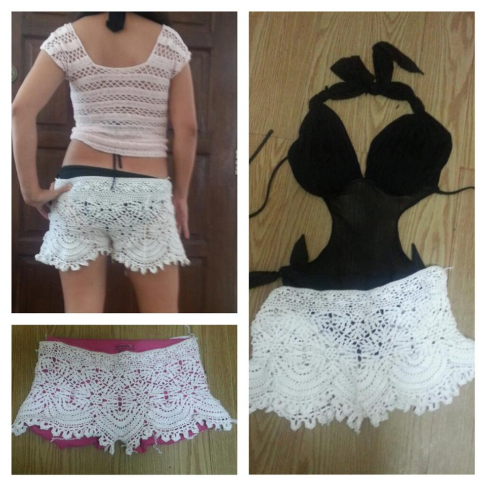 Summer Crocheted Shorts - Funky and Sexy